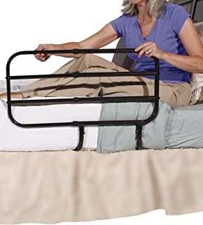 Able Life Bedside Extend-A-Rail, Adjustable Senior Bed Safety Rail and Bedside Standing Assist Grab Bar