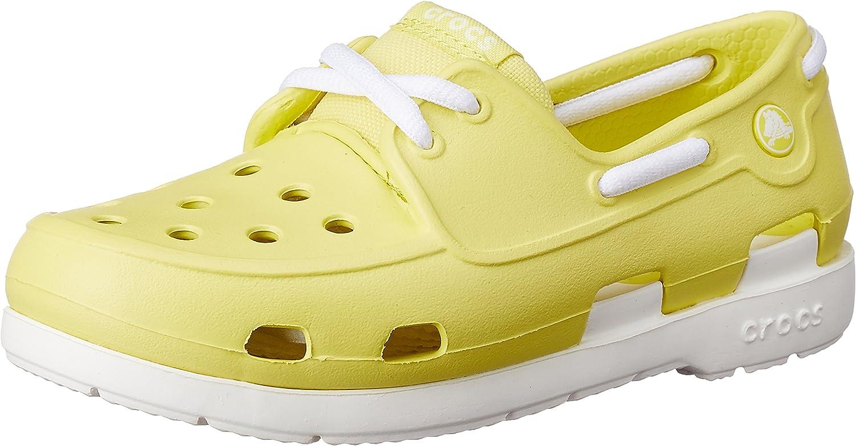 CROC unisex-child Boat Shoes