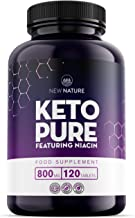 Keto Pure – Keto Diet Pills for Men Women – 1 Month Supply Featuring Niacin Green Tea and Cayenne – Made in The UK – 120 Tablets – Suitable for Vegetarians and Vegans Estimated Price : £ 29,99