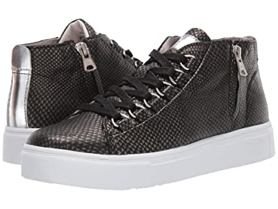 Blackstone Mid Sneaker NL28 (Black Metallic) Women