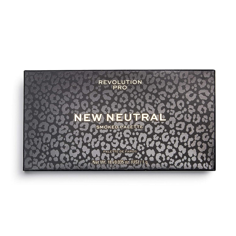 Revolution Pro New Neutrals Smoked Shadow Palette, Smoked, 18 g