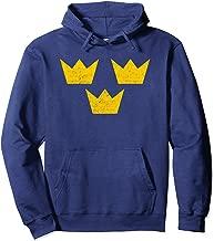 Sweden Sverige Three Crowns Tre Kronor Swedish Hoodie