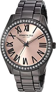 Kenneth Cole Unisex-Adult Quartz Watch, Analog Display and Stainless Steel Strap KC50664005