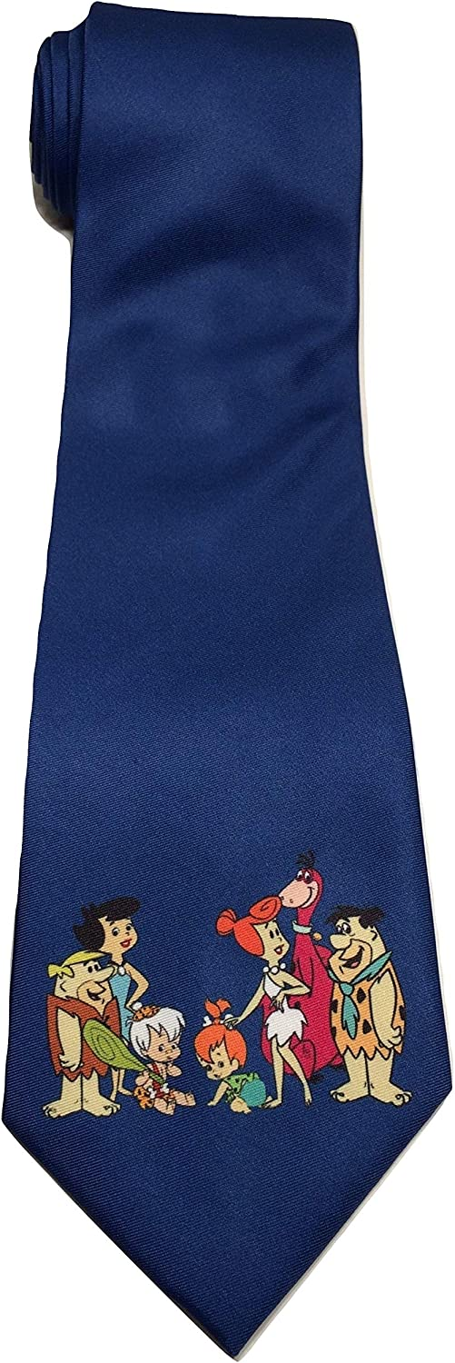 Flintstones Popular products Fred Courier shipping free shipping Barney Wilma Novelty New Necktie