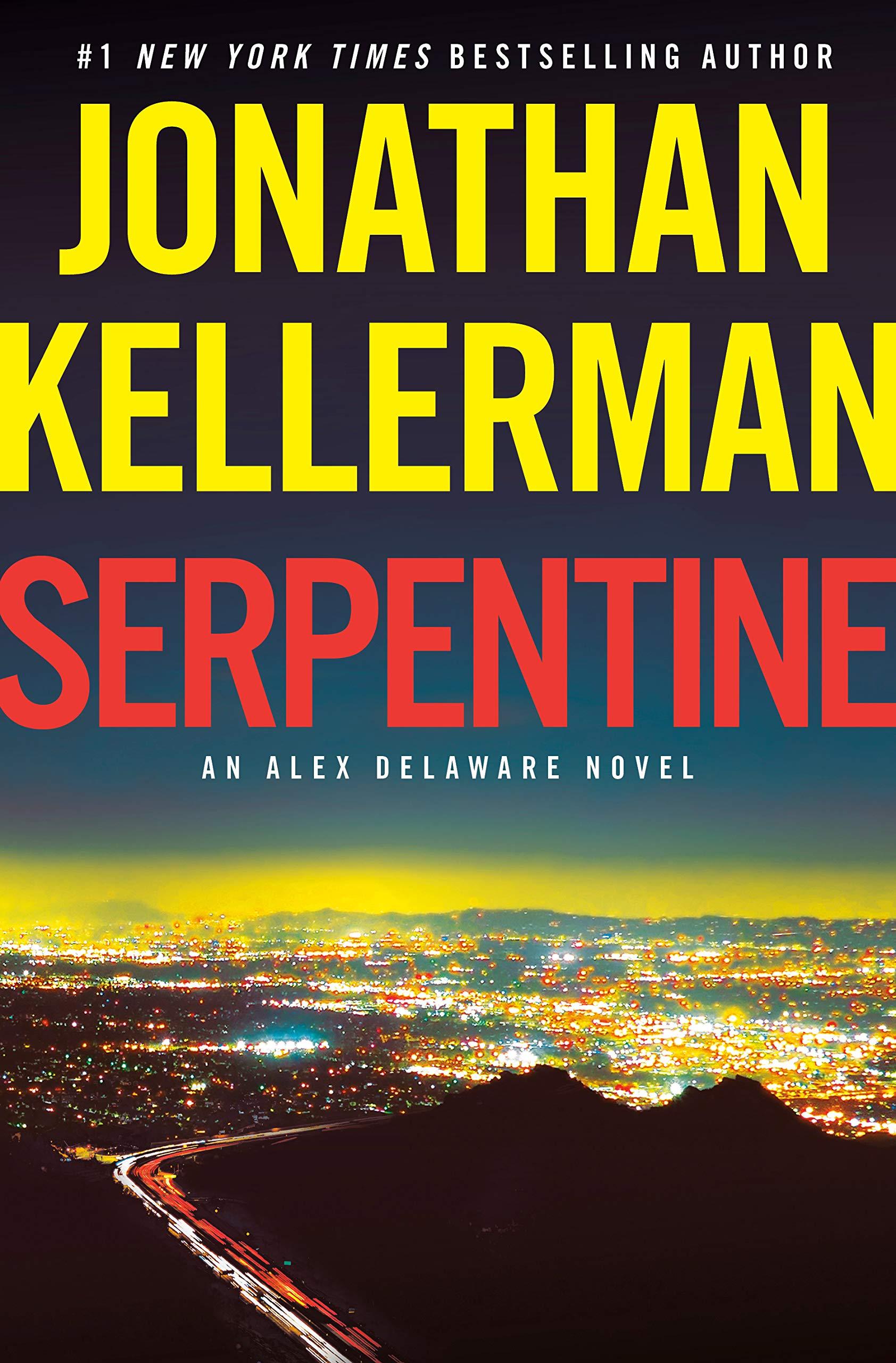 Cover image of Serpentine by Jonathan Kellerman