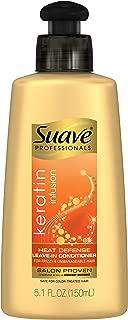 Suave Professionals Leave-in Conditioner, Keratin Infusion Heat Defense, 5.1 oz