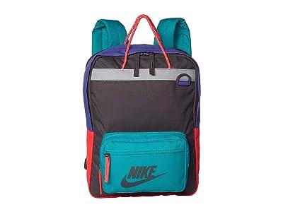 Nike Kids Tanjun Backpack (Little Kids/Big Kids) (Thunder Grey/Teal Nebula/Thunder Grey) Backpack Bags