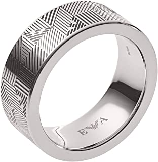 1bee38658cb1b9 Emporio Armani Men Stainless Steel Ring - EGS2508040-10