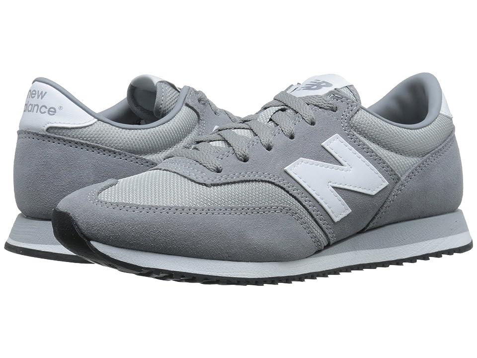 New Balance Classics 620 Core Collection (Grey) Women