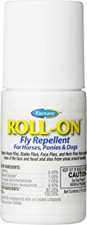 Farnam Roll-On Fly Repellent   for Horses, Ponies and Dogs   2 oz