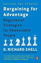 Bargaining for Advantage: Negotiation Strategies for Reasonable People Book PDF