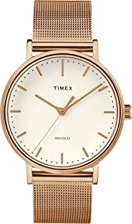 The Fairfield Women Stainless Steel Gold Watch - TW2R26500