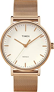 TIMEX - The Fairfield Women Stainless Steel Gold Watch - TW2R26500