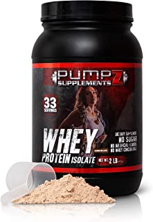 Whey Protein Powder – Clean, Native Whey Protein Isolate - No Artificial Sweeteners or Flavors – Purest Form Whey Isolate ...