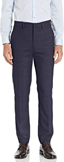 Haggar Mens HY80255 Stretch Windowpane Slim Premium Flex Suit Separate Pant Pants