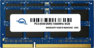 OWC 6.0 GB (2GB + 4GB) PC8500 DDR3 1066 MHz 204-pin Memory Upgrade Kit for MacBook Pro, MacBook, Mac Mini and iMac, (OWC8566DDR3S6GP)