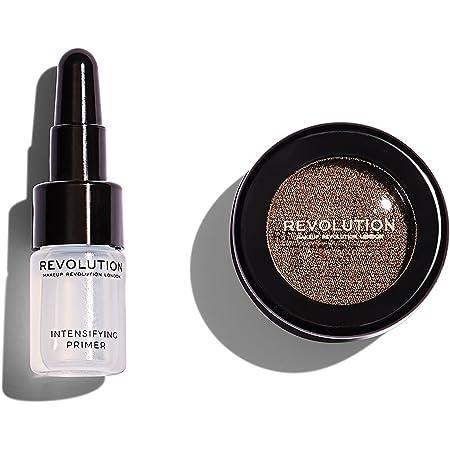 Makeup Revolution Flawless Foils (Eyeshadow), Overcome, Dark Brown, 2g