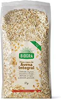 Biográ Copos De Avena Finos Integrales 1Kg Bio Biográ 400 g