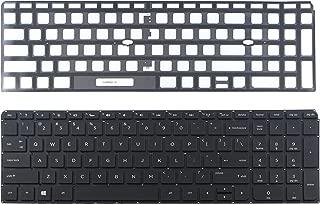 CHNASAWE Laptop US Backlit Keyboard without Frame for HP Envy m6-k m6-k000 m6-k010dx m6-k088ca Sleekbook Series