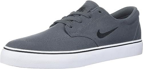 Nike Men& 039;s SB Clutch, Dark grau schwarz Weiß Gum Light braun, 9.5 D US