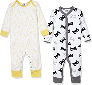 Baby Toddler Boys or Girls Fall Thanksgiving Outfit 2-Pack Jumpsuit Romper Onesies