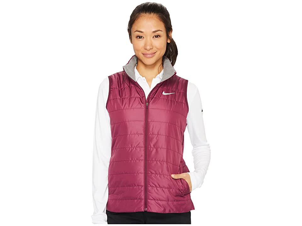 Nike Golf Warm Vest (Bordeaux/Wolf Grey/Wolf Grey) Women