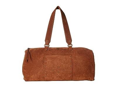 Roxy Aqua Blue Water Weekender Bag (Camel) Weekender/Overnight Luggage