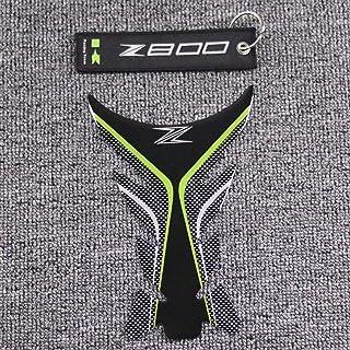 KSTE Coppia di Moto Anti-Slip Serbatoio di Gas Traction Pad Ginocchio Grip Adesivo Compatible with Kawasaki Z800 13-16
