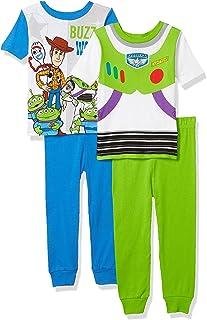 Toy Story Pijama de algodón (4 Piezas) Juego de Pijama para