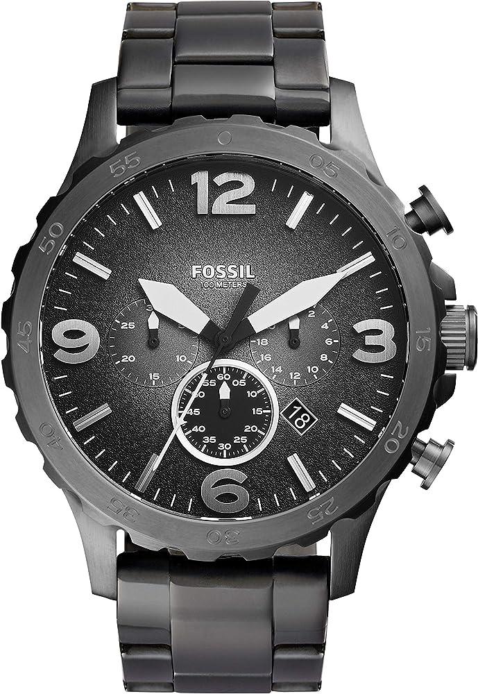 fossil orologio cronografo quarzo uomo jr1437