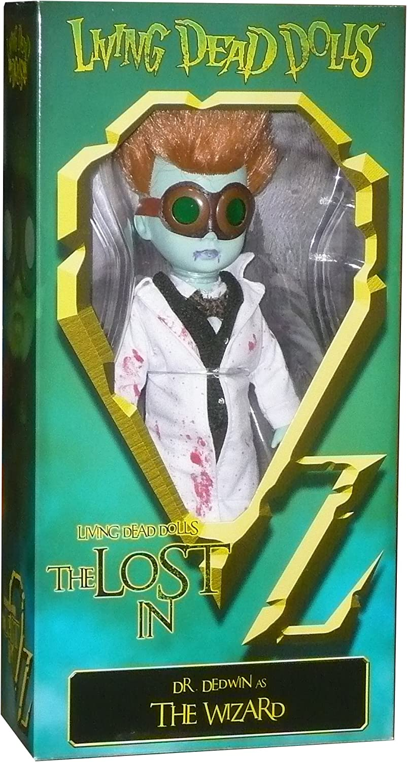 Living Dead Dolls - The Lost In OZ Exclusive Emerald City Variant - Dr. Dedwin as The Wizard Variant