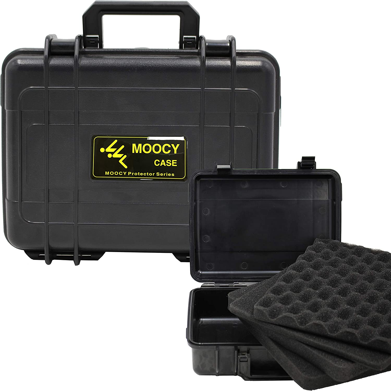 MOOCY Waterproof Case with Customizable x Omaha Mall Insert Foam Houston Mall 10.8 8.6