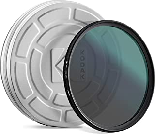 KODAK 49mm CPL Lens Filter | Circular Polarizing Filter Removes Reflections from Glass & Water, Enhances Contrast Improves Color Saturation, Super Slim, Multi-Coated 12-Layer Nano Glass & Mini Guide