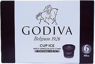 GODIVA ゴディバ カップアイス 100ml×6カップ (ミルクチョコレートチップ)