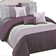 Essina Microfiber Super King Sized Quilt Cover Duvet Cover Doona Cover Set 3pc Arcadia Collection, Soft and Lightweight, Zuri