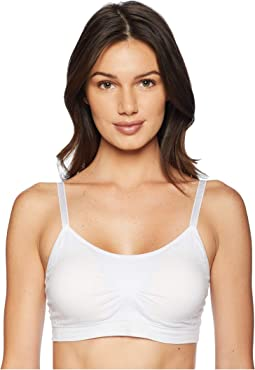 Full Size Scoop Neck Bralette w/ Lace Back