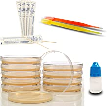 Amazing Bacteria Science Kit - Prepoured Agar Plates Kit - Top Science Fair Project Kit - Superior Bacteria Growth - Award Winning Experiment Ebook - Have Fun While Learning Microbiology Now!