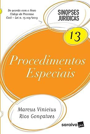 Procedimentos Especiais - Volume 13. Coleção Sinopses Jurídicas