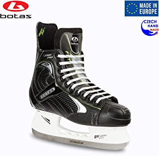 Botas - Largo 571 PRO - Men's Ice Hockey Skates | Made in Europe (Czech Republic) | Color: Black