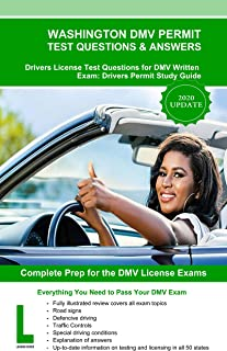 Washington DMV Permit Test Questions & Answers: Driver's License Test Questions for DMV Written Exam: Drivers Permit Study Guide