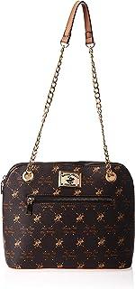 Beverly Hills Polo Club Bhva2800Bn Crossbody Bag For Women - Leather, Brown xx cm (W x H x L)