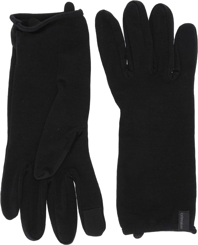 Icebreaker Merino unisex-adult 260 Tech Wool Winter Glove Liner for Men Or Women