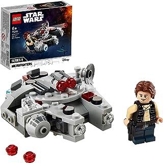 LEGO 75295 Star Wars Millennium Falcon Microfighter Byggsats med Han Solo Figur, Barnleksaker