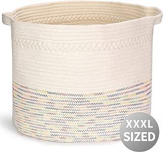 Extra Large Cotton Rope Basket 22