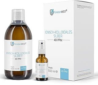 FürstenMED® Kolloidales Silber – Hoch konzentriert 40 PPM – Laborgeprüft..