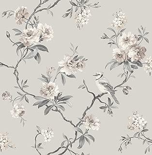 Fine Decor 2900-40764 Chinoiserie Stone Floral Wallpaper,