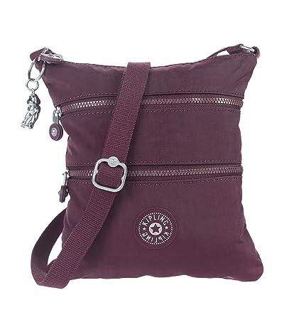 Kipling Keiko Crossbody (Dark Plum) Cross Body Handbags