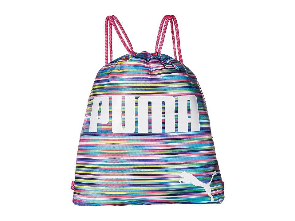 PUMA Evercat Advantage Reversible Carrysack (Little Kids/Big Kids) (Pink/Multi) Day Pack Bags
