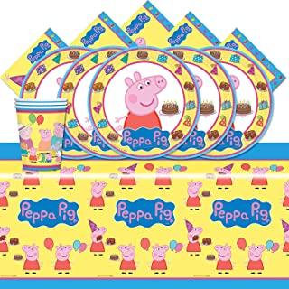 amscan Peppa The Pig Party Pack for 16
