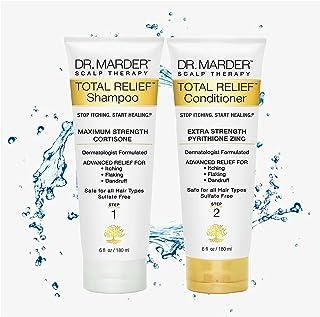 Psoriasis Shampoo – Anti Dandruff Shampoo and Conditioner   Dermatologist Patented Dry Scalp Treatment w/ Hydrocortisone  ...